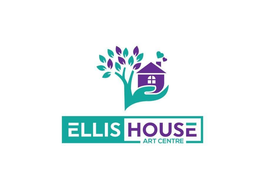 """Intrarea #                                        73                                      pentru concursul """"                                        Logo Design - Ellis House Art Centre                                     """""""
