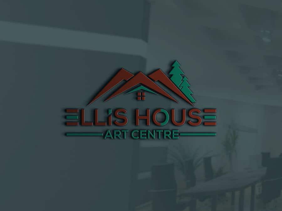 """Intrarea #                                        63                                      pentru concursul """"                                        Logo Design - Ellis House Art Centre                                     """""""