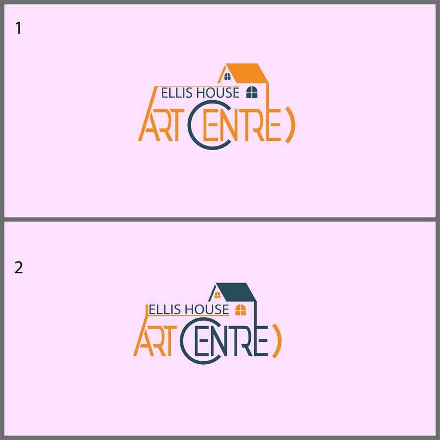 """Intrarea #                                        317                                      pentru concursul """"                                        Logo Design - Ellis House Art Centre                                     """""""