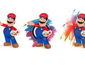 #39 for Cartoon character design - diseño de pintor caricatura by Karthikeyan1411