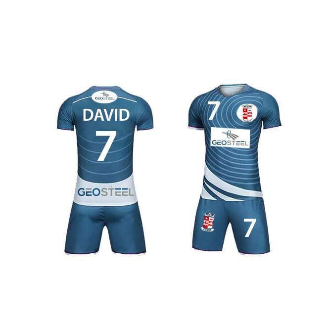 Penyertaan Peraduan #25 untuk Soccer Uniform Designs