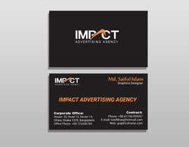 #71 untuk ImpactAdvertising Logo and Business card oleh hridoykhan123