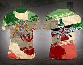 #18 para Traditional Iranian Images on Sublimated Tee de nhicko07