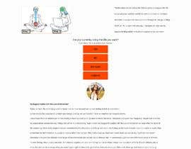 #6 untuk Design a landing page based on example oleh nain000