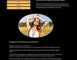 #9 untuk Design a landing page based on example oleh Metamiao