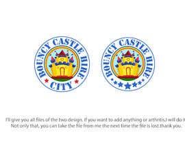 #41 untuk Bouncy Castle Hire Logo oleh Tawsib
