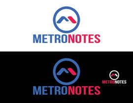 #7 for Design a Logo for Metronotes af nazmulhassan2321