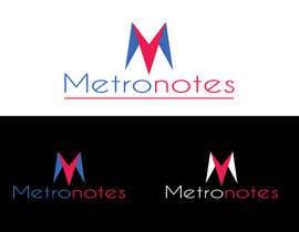 #8 for Design a Logo for Metronotes af nazmulhassan2321