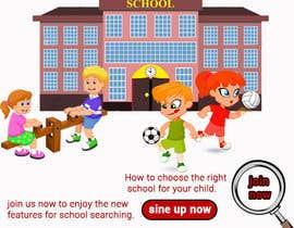 Nro 56 kilpailuun Build me a website banner for signup käyttäjältä nazmakhatun9090