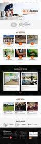 Миниатюра конкурсной заявки №17 для Website Design & Build - Building Maintenance Company