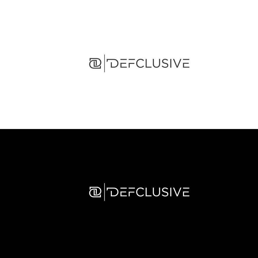 Kilpailutyö #1567 kilpailussa Defclusive needs a logo!