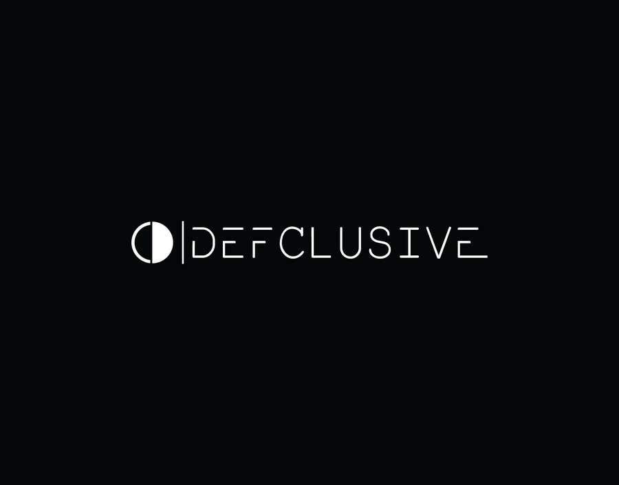 Kilpailutyö #1808 kilpailussa Defclusive needs a logo!