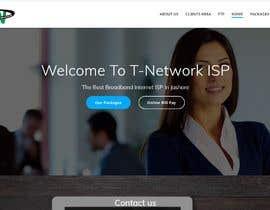 nº 103 pour New IT company needs a website design par ekparvez