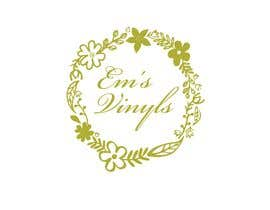 "#27 untuk I want a logo that says ""Em's Vinyls"" I want it to be feminine. I love the colors olive green, and white. I love boho and farmhouse style. I am using this logo for my business of vinyl cups, tshirts, car decals, etc.  - 17/11/2019 12:37 EST oleh samars5house"