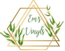 "#33 untuk I want a logo that says ""Em's Vinyls"" I want it to be feminine. I love the colors olive green, and white. I love boho and farmhouse style. I am using this logo for my business of vinyl cups, tshirts, car decals, etc.  - 17/11/2019 12:37 EST oleh susanship"