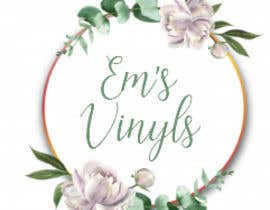 "#42 untuk I want a logo that says ""Em's Vinyls"" I want it to be feminine. I love the colors olive green, and white. I love boho and farmhouse style. I am using this logo for my business of vinyl cups, tshirts, car decals, etc.  - 17/11/2019 12:37 EST oleh susanship"