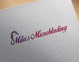 #24 for I need a logo designed for my new business. Mila's Microblading I have posted some examples colours would preferably be rose gold and grey. Ongoing work including business cards and posters for the contest winner af mbhuiyan389