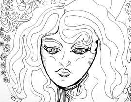 #10 cho B & W Coloring book page in style of Moebius bởi juliadafne123