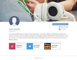 #13 cho Single webpage for user profiles bởi jqueryfinder