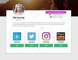 #59 cho Single webpage for user profiles bởi mdakshohag