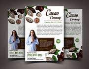 "Graphic Design Intrarea #58 pentru concursul ""Flyer for Cacao Ceremony"""