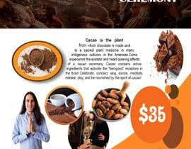 #52 pentru Flyer for Cacao Ceremony de către tushershaon