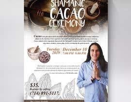 #72 pentru Flyer for Cacao Ceremony de către Brocreative