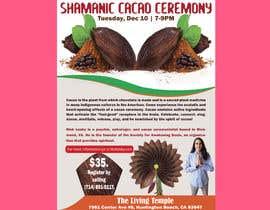 #59 pentru Flyer for Cacao Ceremony de către ExpressHasan