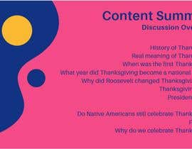 "#3 for A CANVA Presentation On ""Why Do We Celebrate Thanksgiving?"" by ukhrakib"