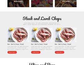 #18 untuk Website Design For a Bar and Steakhouse oleh Themeasia