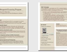 #6 pentru BROCHURE FOR WORK INTEGRATED LEARNING PROGRAM de către natasyaeleanore