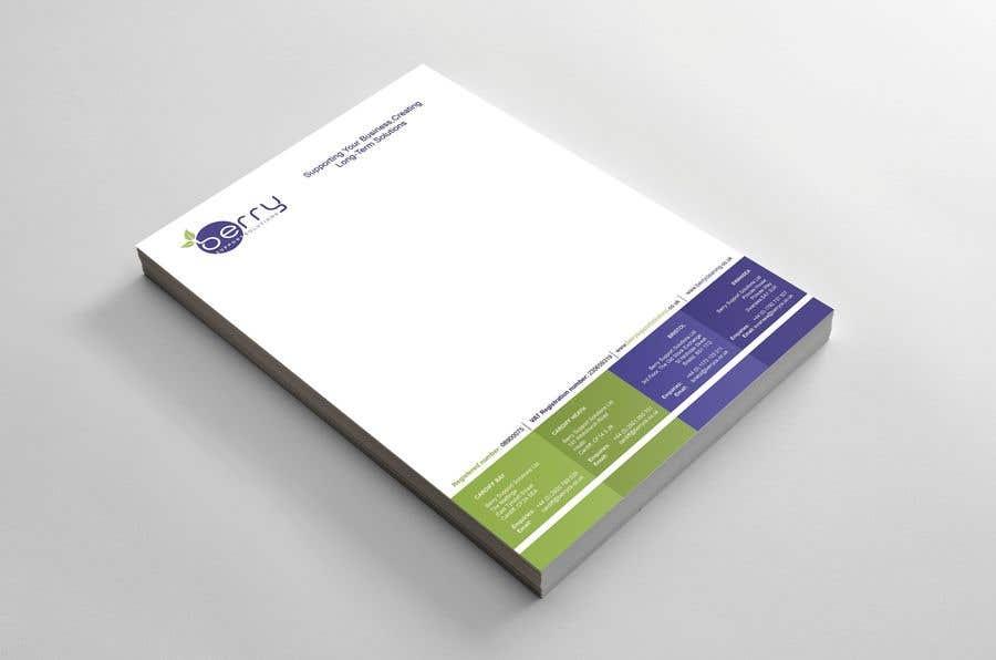Bài tham dự cuộc thi #84 cho Design letterhead for business