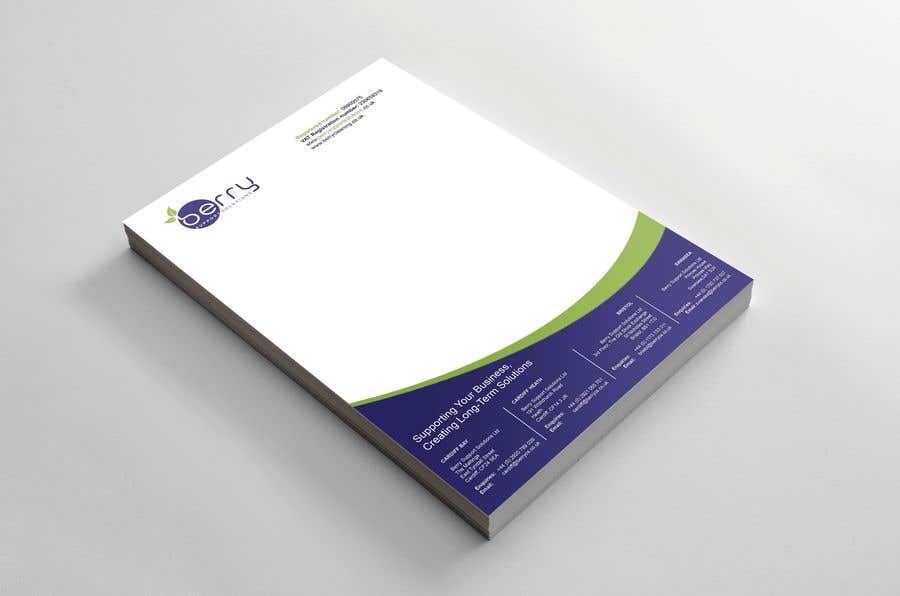 Bài tham dự cuộc thi #86 cho Design letterhead for business