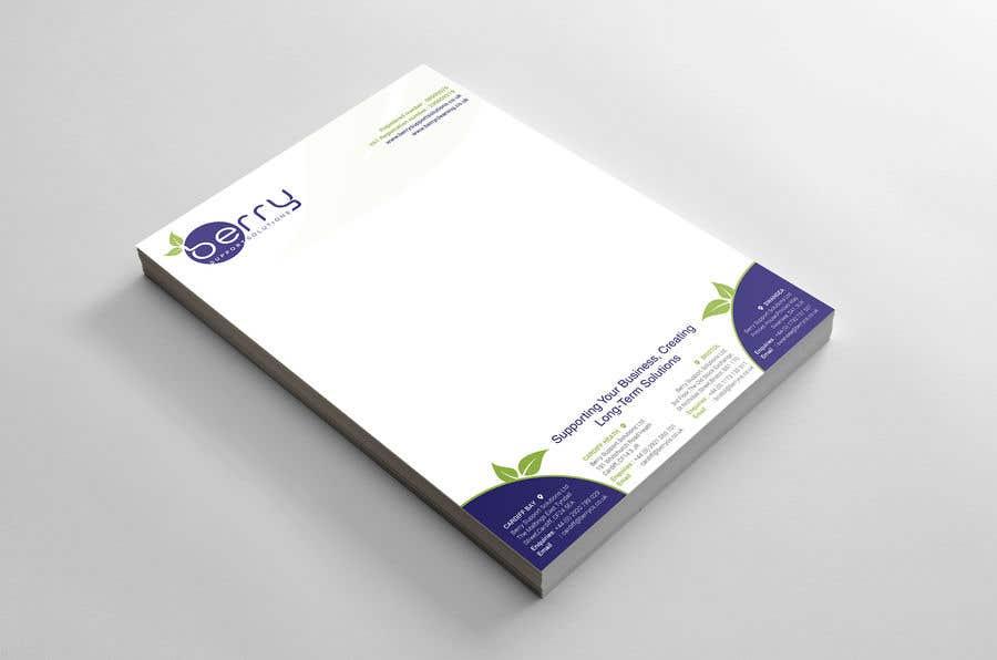 Bài tham dự cuộc thi #74 cho Design letterhead for business