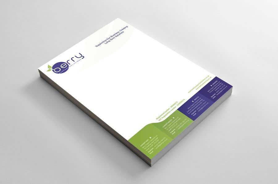 Bài tham dự cuộc thi #78 cho Design letterhead for business