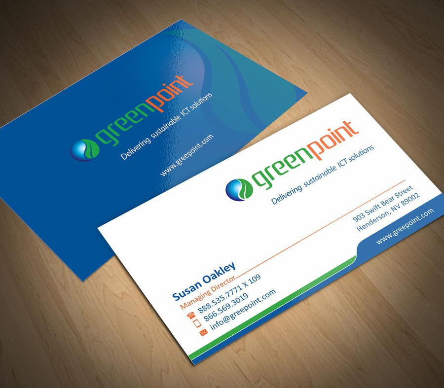 Entry #3 by ezesol for Design Business Cards / Stationery for ICT ...
