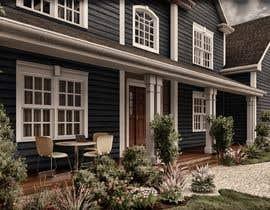 #24 untuk Rendering of a house oleh maxisalvatore