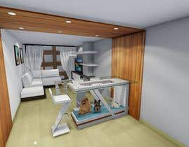 #36 for 3D Photo realistic render for a modern living & dining room (repost of contest ID 1666539) by araque47