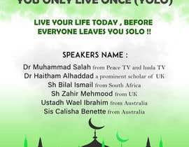 ARKamaldeen tarafından Poster for a Islamic Conference için no 61