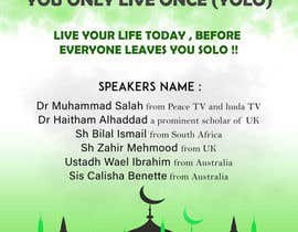 #61 cho Poster for a Islamic Conference bởi ARKamaldeen