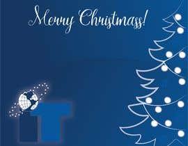 #39 cho Design Christmas logo and Christmas card in blue colors bởi LiberteTete
