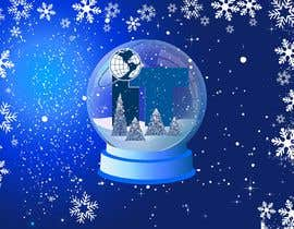 #60 cho Design Christmas logo and Christmas card in blue colors bởi Yoova