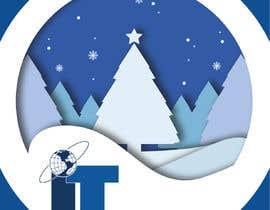 #69 cho Design Christmas logo and Christmas card in blue colors bởi dorotasosnowka