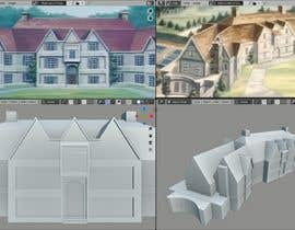 #5 for 3D Printable mansion/house in 1:24 scale by huybpt