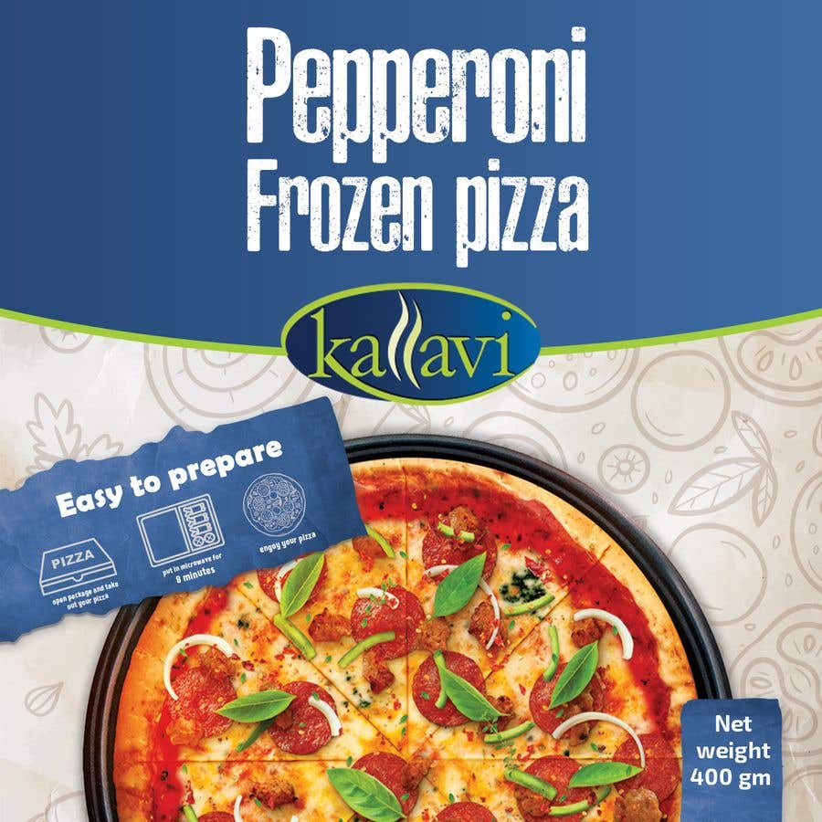 Конкурсная заявка №50 для Pizza Packaging Design