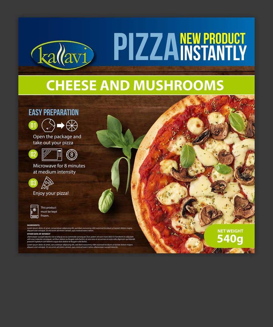 Penyertaan Peraduan #                                        16                                      untuk                                         Pizza Packaging Design