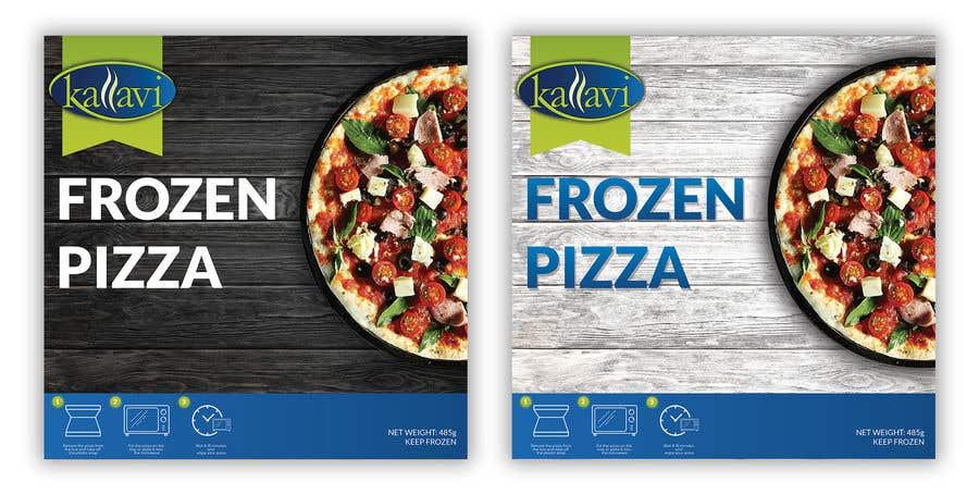 Penyertaan Peraduan #42 untuk Pizza Packaging Design