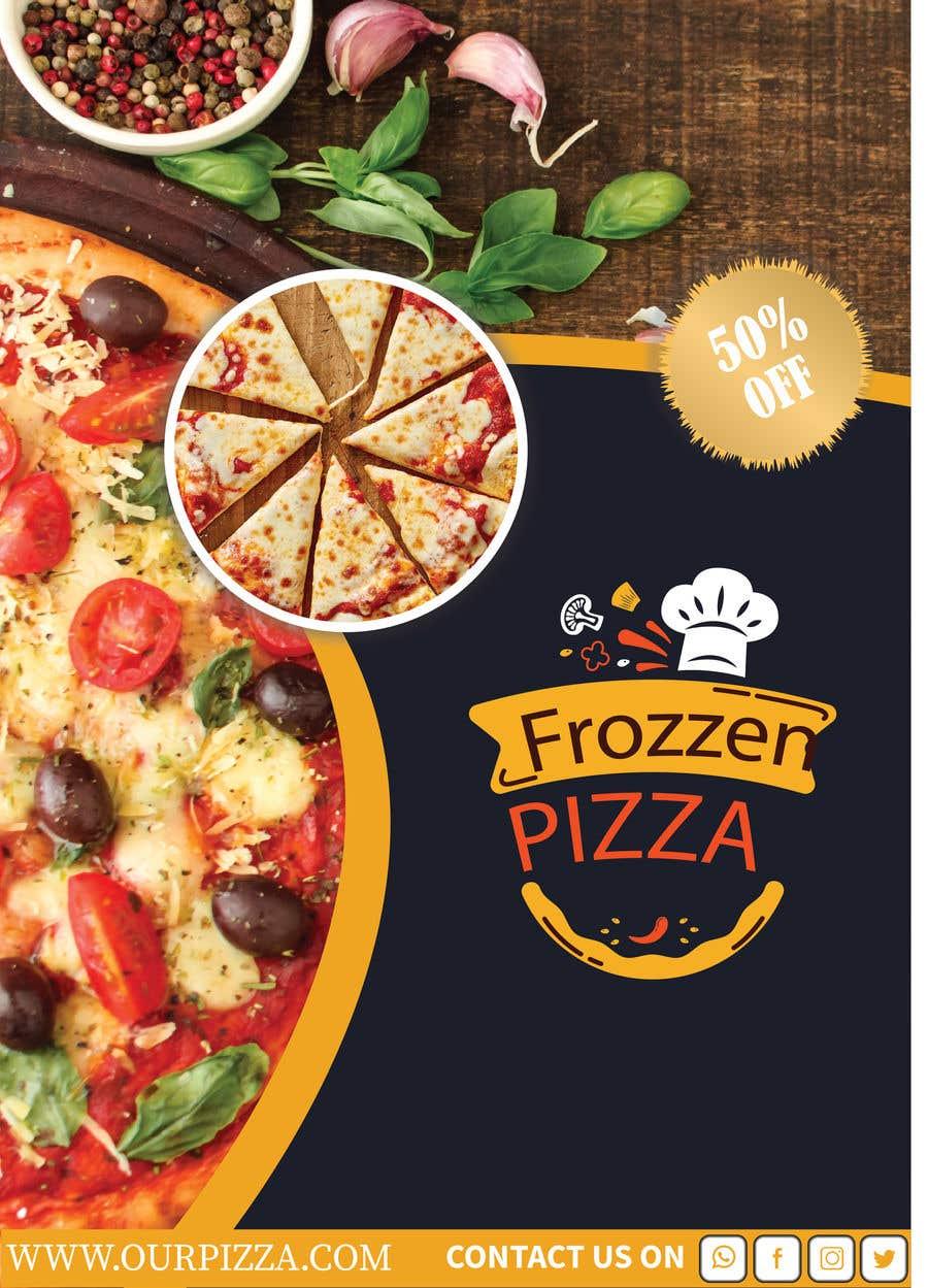 Penyertaan Peraduan #26 untuk Pizza Packaging Design