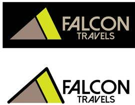 #168 for Logo design for new travel and tourism company selling travel tickets, hotel booking, and other tours .  Name of company is FALCON TRAVEL by purvisha7