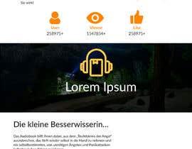 #41 for GREAT JOB: redesign of a website af shambhurambarman